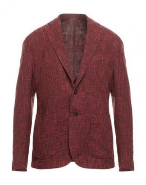Пиджак EDDY & BROS. Цвет: кирпично-красный