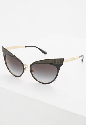 Очки солнцезащитные Dolce&Gabbana DG2178 13128G. Цвет: черный