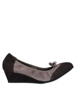 Туфли CALPIERRE. Цвет: темно-коричневый