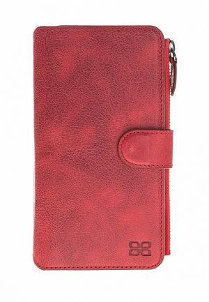 Чехол для iPhone Bouletta X ZipMagic. Цвет: бордовый