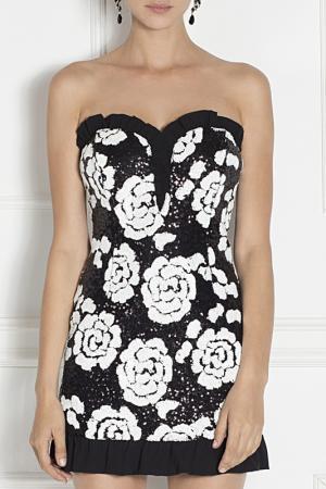 Платье Nissa. Цвет: white and black