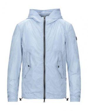 Куртка ADHOC. Цвет: небесно-голубой