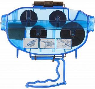 Машинка для чистки цепи Cyclotech. Цвет: синий