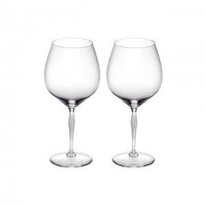 Набор из 2-х бокалов для вина Burgundy 100 Points Lalique. Цвет: прозрачный