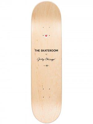 Дека для скейтборда Judy Chicago The Skateroom. Цвет: розовый