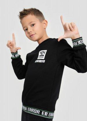 Джемпер для мальчиков O`Stin. Цвет: черный