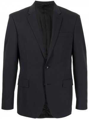 Durban однобортный пиджак строгого кроя D'urban. Цвет: синий