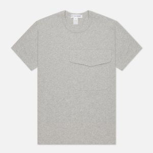 Мужская футболка Exaggerated Pocket Comme des Garcons SHIRT. Цвет: серый