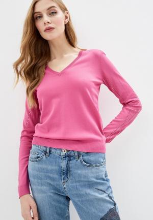 Пуловер Liu Jo. Цвет: розовый