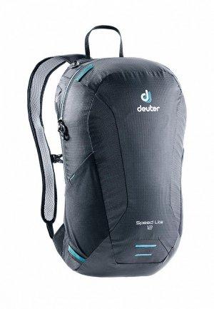 Рюкзак Deuter Speed Lite 12 Black. Цвет: черный