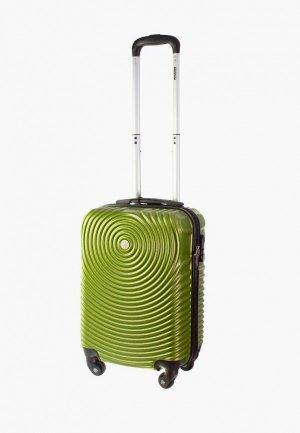 Чемодан Proffi travel S. Цвет: зеленый