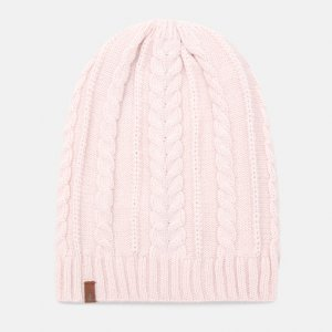 Шапки Cable Slouchy Beanie Timberland. Цвет: розовый