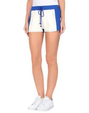 Повседневные шорты FORNARINA. Цвет: ярко-синий
