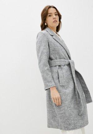 Пальто Incity. Цвет: серый