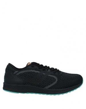 Кеды и кроссовки SAUCONY. Цвет: черный