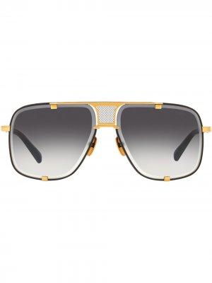 Солнцезащитные очки Match-Five Dita Eyewear. Цвет: золотистый