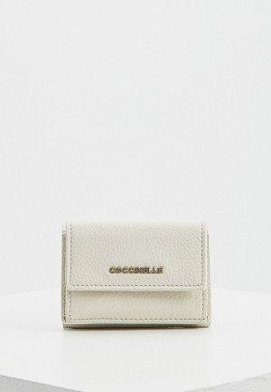 Кошелек Coccinelle. Цвет: белый