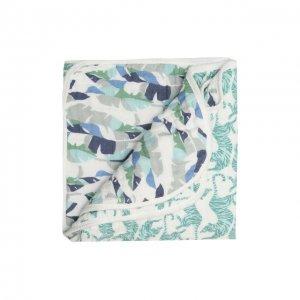 Хлопковое одеяло Aden+Anais. Цвет: зелёный