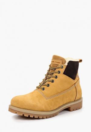 Ботинки Jack & Jones. Цвет: желтый