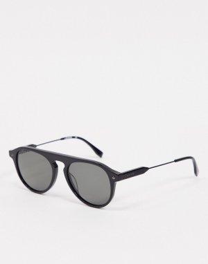Черные солнцезащитные очки -Черный цвет Lacoste