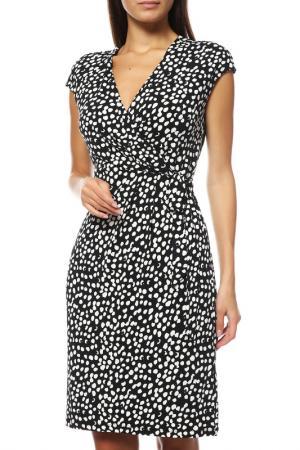 Платье Comma. Цвет: черный