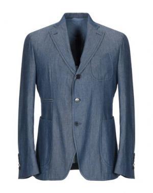 Пиджак JOHN SHEEP. Цвет: синий