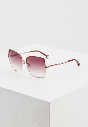 Очки солнцезащитные Carolina Herrera C-Herrera-172-E59. Цвет: красный