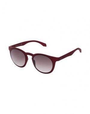 Солнечные очки ALSTECA. Цвет: кирпично-красный