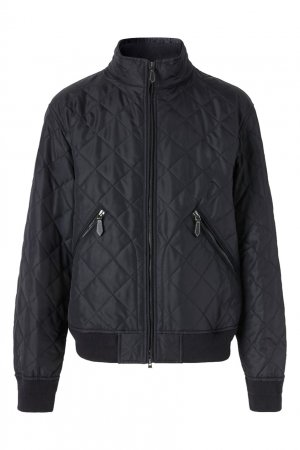 Стеганая куртка-бомбер Burberry. Цвет: синий