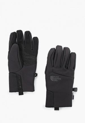 Перчатки The North Face Y APEX+ ETIP GLOVE TNF. Цвет: черный