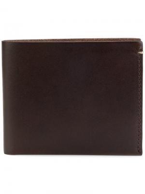 Классический бумажник Troubadour. Цвет: коричневый