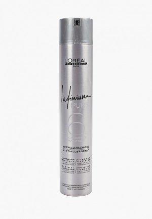 Лак для волос LOreal Professionnel L'Oreal INFINIUM PURE STRONG Сильной фиксации. Цвет: прозрачный