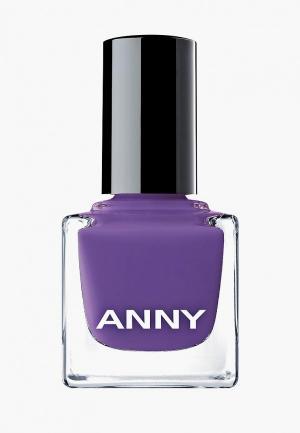Лак для ногтей Anny тон 214.10 пурпурное сердце. Цвет: фиолетовый