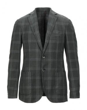 Пиджак SANTANIELLO. Цвет: зеленый-милитари
