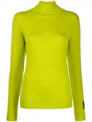 Джемпер с логотипом Nina Ricci. Цвет: зеленый
