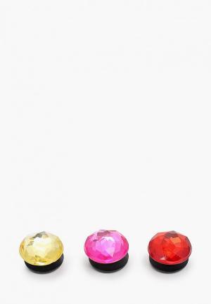 Джиббитсы Crocs. Цвет: разноцветный