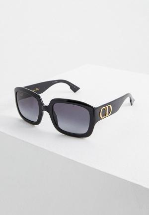 Очки солнцезащитные Christian Dior DDIOR 807. Цвет: черный