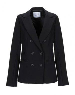 Пиджак DOUUOD. Цвет: черный
