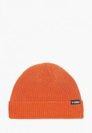 Шапка Converse. Цвет: оранжевый