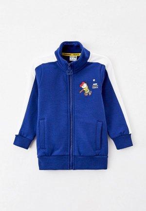 Олимпийка PUMA X PEANUTS T7 Track Jacket B. Цвет: синий