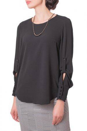 Блузка Argent. Цвет: черный