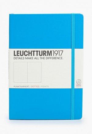 Блокнот Leuchtturm1917. Цвет: голубой