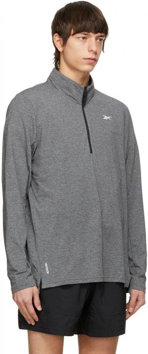 Black Activchill Quarter-Zip Pullover Reebok Classics. Цвет: black