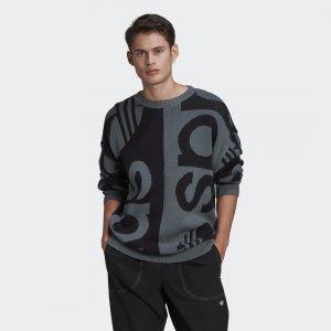 Свитшот R.Y.V. Originals adidas. Цвет: черный
