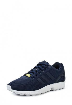 Кроссовки adidas Originals ZX FLUX. Цвет: синий