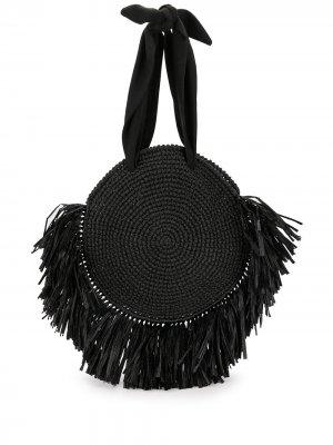 Пляжная сумка Tulum 0711. Цвет: черный