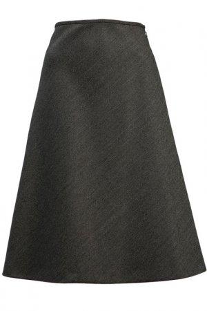 Юбка Balenciaga. Цвет: серый