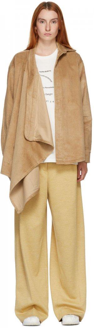 Tan Neckerchiefer Corduroy Jacket Bless. Цвет: beigecord