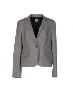 Пиджак FEMÌ. Цвет: светло-серый