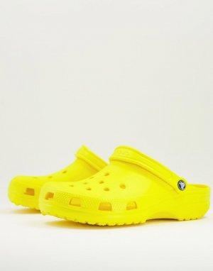 Желтая классическая обувь -Желтый Crocs